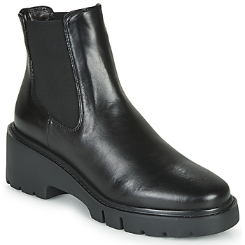 Cipők Női Csizmák Unisa JEROME Fekete