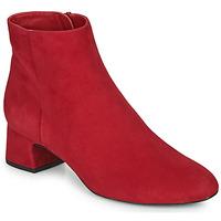 Cipők Női Bokacsizmák Unisa LOLI Piros