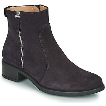 Cipők Női Csizmák Unisa EBRAS Tengerész