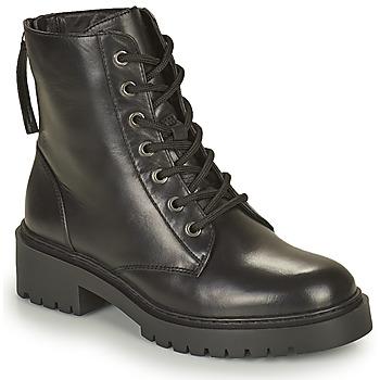 Cipők Női Csizmák Unisa JISPER Fekete