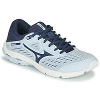 Cipők Lány Futócipők Mizuno WAVE RIDER JR Kék