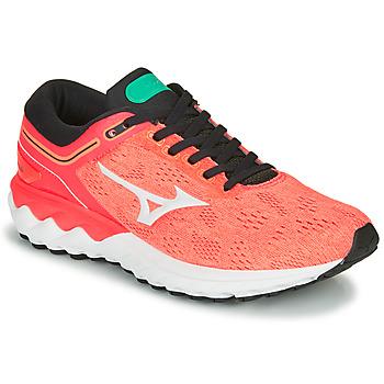 Cipők Női Futócipők Mizuno WAVE SKY RISE Korall