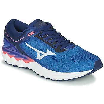 Cipők Férfi Futócipők Mizuno WAVE SKY RISE Kék