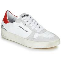Cipők Női Rövid szárú edzőcipők Meline STRA5007 Fehér / Piros