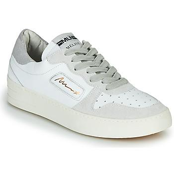 Cipők Női Rövid szárú edzőcipők Meline STRA-A-1060 Fehér / Bézs