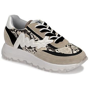 Cipők Női Magas szárú edzőcipők Meline TRO1700 Bézs / Piton