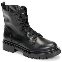 Cipők Női Csizmák Bullboxer 610504E6L_BKC Fekete