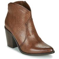 Cipők Női Bokacsizmák MTNG 50187-C50166 Barna
