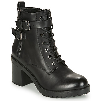Cipők Női Bokacsizmák MTNG 58674-C50055 Fekete
