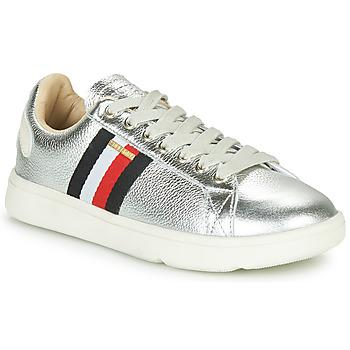 Cipők Női Rövid szárú edzőcipők Superdry VINTAGE TENNIS TRAINER Ezüst