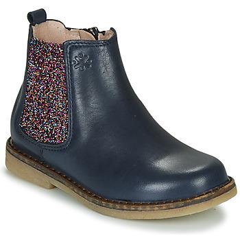 Cipők Lány Csizmák Acebo's 5274-MARINO-J Tengerész