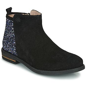 Cipők Lány Csizmák Acebo's 8035-NEGRO-T Fekete
