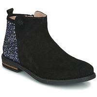 Cipők Lány Csizmák Acebo's 8035-NEGRO-J Fekete