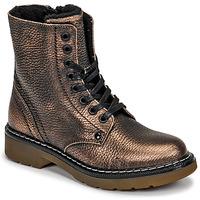 Cipők Lány Csizmák Bullboxer AOL501E6LGCHAM Bronz