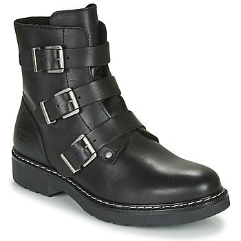 Cipők Lány Csizmák Bullboxer AOL520E6L-BLCK Fekete