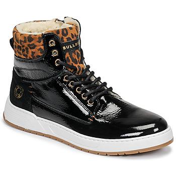 Cipők Lány Magas szárú edzőcipők Bullboxer AOF503E6L-BLCK Fekete