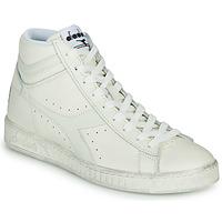 Cipők Magas szárú edzőcipők Diadora GAME L HIGH WAXED Fehér