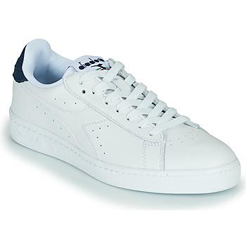 Cipők Rövid szárú edzőcipők Diadora GAME L LOW OPTICAL Fehér / Kék