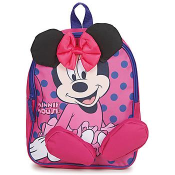 Táskák Lány Hátitáskák Disney BACKPACK MINNIE Rózsaszín