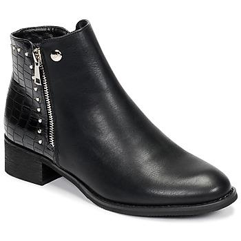 Cipők Női Csizmák Les Petites Bombes ALINE Fekete
