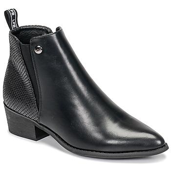 Cipők Női Csizmák Les Petites Bombes ANTONELLA Fekete