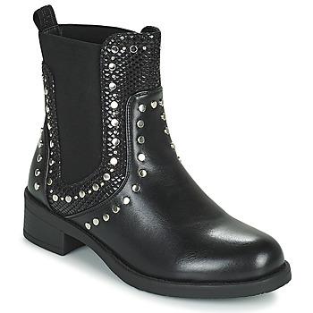 Cipők Női Csizmák Les Petites Bombes ALONA Fekete