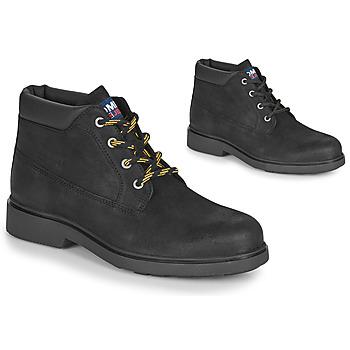 Cipők Férfi Csizmák Tommy Jeans LOW CUT TOMMY JEANS BOOT Fekete