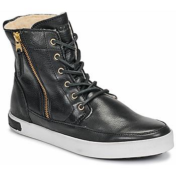 Cipők Női Magas szárú edzőcipők Blackstone CW96 Fekete