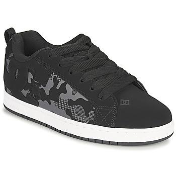 Cipők Férfi Deszkás cipők DC Shoes COURT GRAFFIK Fekete