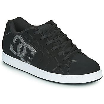 Cipők Férfi Rövid szárú edzőcipők DC Shoes NET Fekete  / Szürke