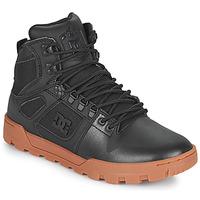 Cipők Férfi Magas szárú edzőcipők DC Shoes PURE HIGH TOP WR BOOT Fekete