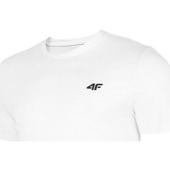 Ruhák Férfi Rövid ujjú pólók 4F TSM003 Białe