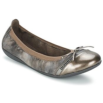 Shoes Női Balerina cipők / babák Les P'tites Bombes CAPRICE METAL Szürke
