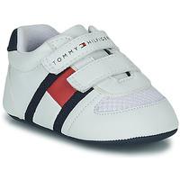 Cipők Gyerek Rövid szárú edzőcipők Tommy Hilfiger T0B4-30191 Fehér
