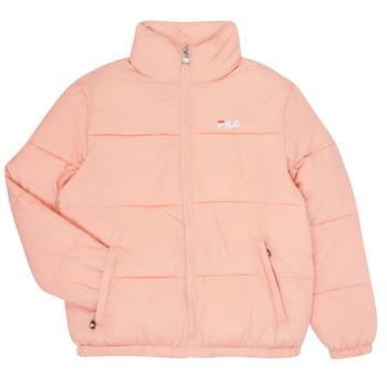 Ruhák Lány Steppelt kabátok Fila STORM Rózsaszín