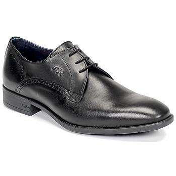 Cipők Férfi Oxford cipők Fluchos LUKE Fekete