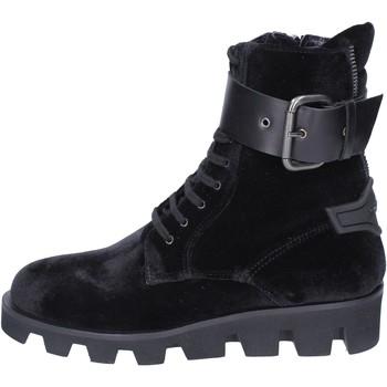 Cipők Női Bokacsizmák Roberto Botticelli Bokacsizma BM116 Fekete