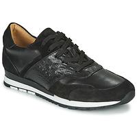 Cipők Férfi Rövid szárú edzőcipők Brett & Sons SUZI Fekete