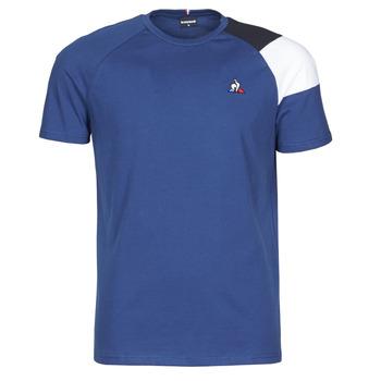 Ruhák Férfi Rövid ujjú pólók Le Coq Sportif ESS TEE SS N°10 M Kék