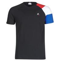 Ruhák Férfi Rövid ujjú pólók Le Coq Sportif ESS TEE SS N°10 M Fekete