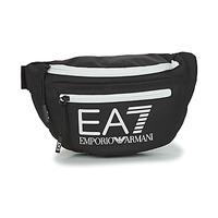 Táskák Férfi Övtáskák Emporio Armani EA7 TRAIN CORE U SLING BAG Fekete  / Fehér