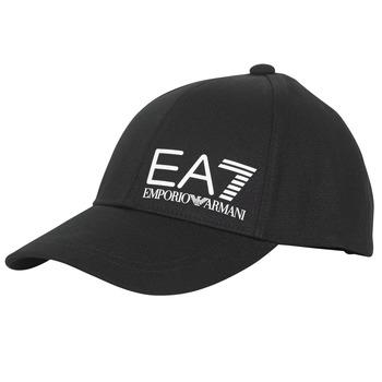 Textil kiegészítők Férfi Baseball sapkák Emporio Armani EA7 TRAIN CORE ID M LOGO CAP Fekete