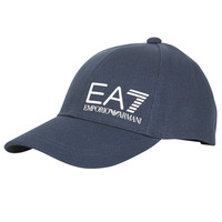 Textil kiegészítők Férfi Baseball sapkák Emporio Armani EA7 TRAIN CORE ID M LOGO CAP Tengerész