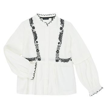 Ruhák Lány Ingek / Blúzok Ikks XR12022 Fehér