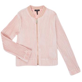 Ruhák Lány Mellények / Kardigánok Ikks XR17022 Rózsaszín