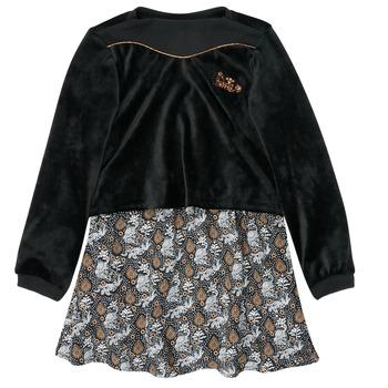 Ruhák Lány Rövid ruhák Ikks XR30162 Fekete