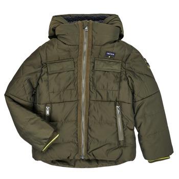 Ruhák Fiú Steppelt kabátok Ikks XR41123 Barna