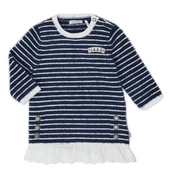Ruhák Lány Rövid ruhák Ikks XR30030 Fehér