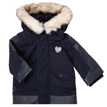 Ruhák Lány Parka kabátok Ikks XR42000 Kék