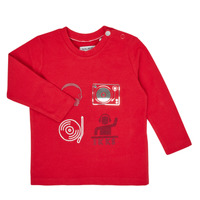 Ruhák Fiú Hosszú ujjú pólók Ikks XR10011 Piros